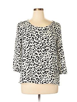 Fab'rik 3/4 Sleeve Blouse Size L