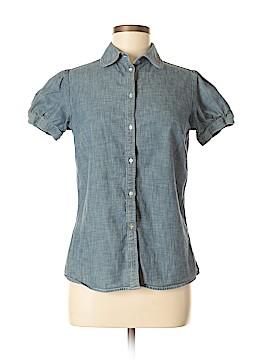 Gap Outlet Short Sleeve Button-Down Shirt Size M