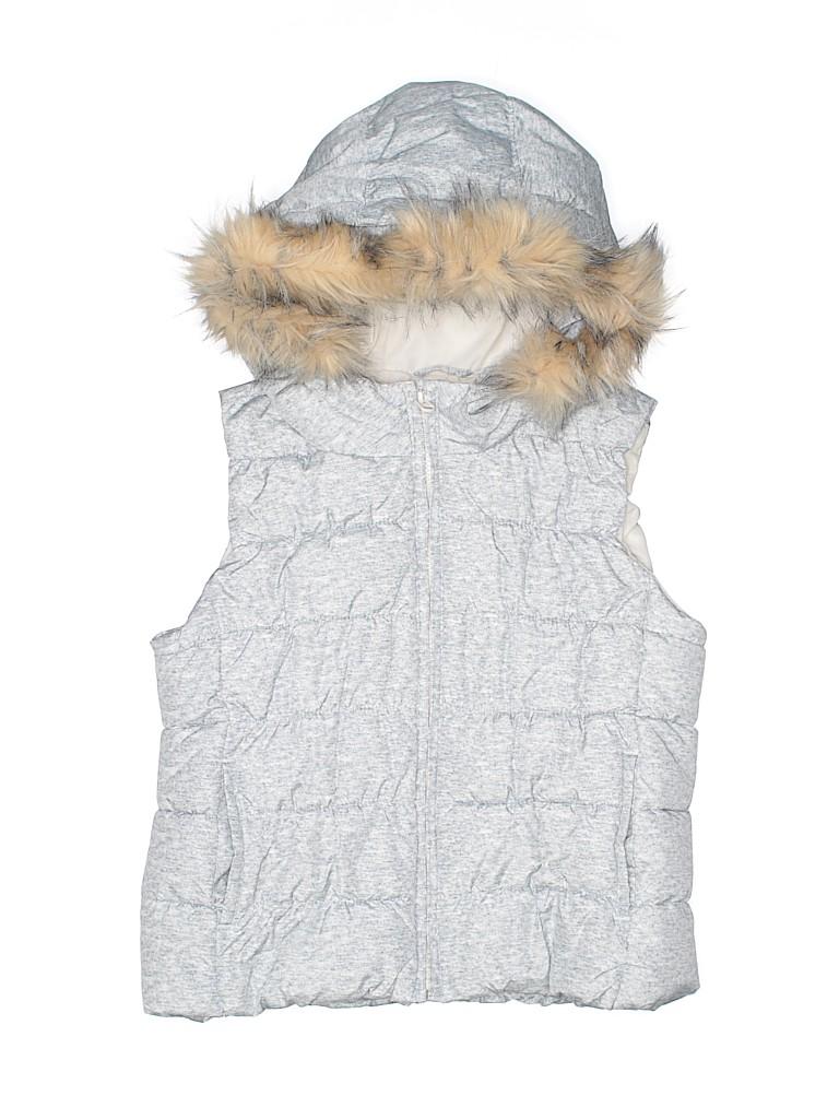 Gap Kids Girls Faux Fur Vest Size L (Youth)