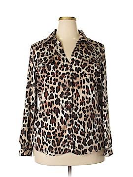 Bebe Long Sleeve Blouse Size XL