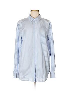 Equipment Long Sleeve Button-Down Shirt Size Lg  (Plus)