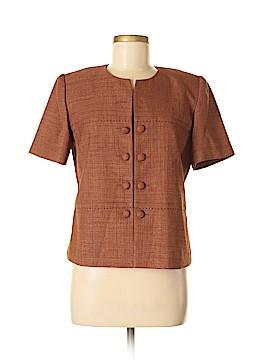 Leslie Fay Short Sleeve Blouse Size 6