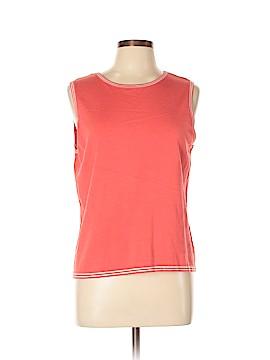 Doncaster Sport Sleeveless Silk Top Size L