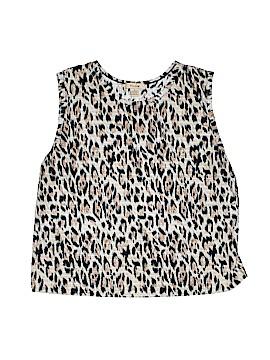 Plisse Short Sleeve Blouse Size 1X (Plus)