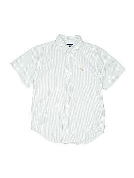 Ralph by Ralph Lauren Short Sleeve Button-Down Shirt Size 7