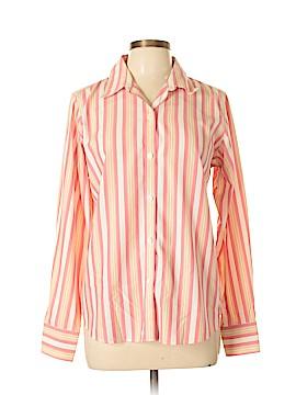 DressBarn Long Sleeve Button-Down Shirt Size 10
