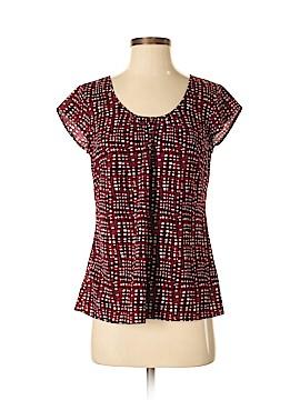 Ann Taylor LOFT Short Sleeve Blouse Size 4