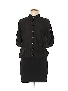 Splendid Short Sleeve Button-Down Shirt Size M