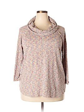 Signature Studio Pullover Sweater Size 2X (Plus)