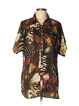 Zoe D. Long Sleeve Blouse Size L