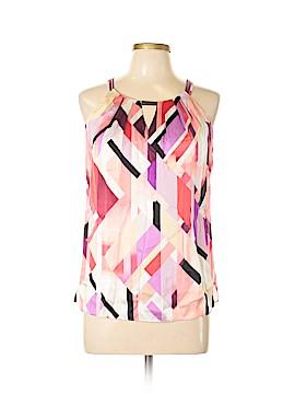 White House Black Market Sleeveless Silk Top Size 6