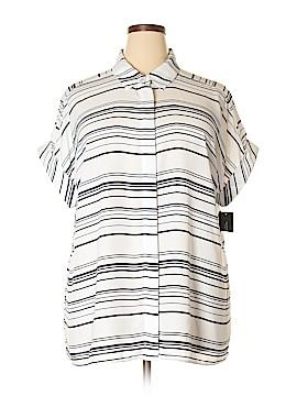 Alfani Short Sleeve Blouse Size 18 (Plus)