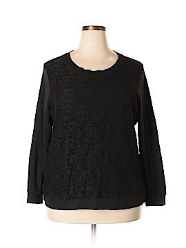 Verve Sweatshirt Size 2X (Plus)
