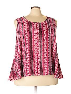 Style&Co Sleeveless Blouse Size 3X (Plus)