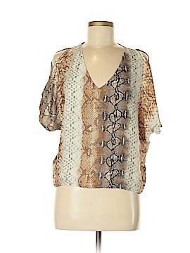 LeyenDecker Short Sleeve Silk Top Size 2
