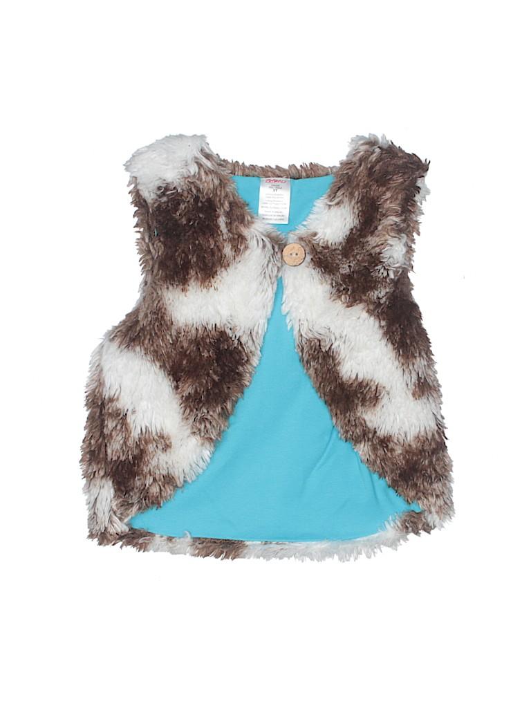 Zutano Girls Faux Fur Vest Size 3T