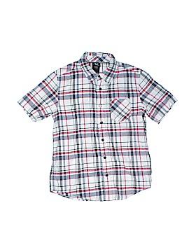 Shaun White Short Sleeve Button-Down Shirt Size M (Kids)