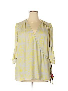 Seven7 3/4 Sleeve Blouse Size 2X (Plus)