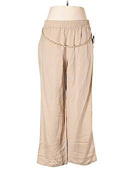 JM Collection Linen Pants Size 1X (Plus)