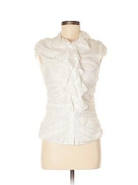 Catherine Malandrino Short Sleeve Blouse Size 8
