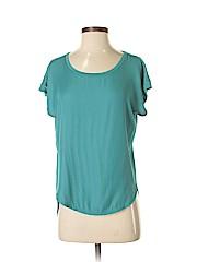 Ann Taylor LOFT Women Short Sleeve Blouse Size XS (Petite)