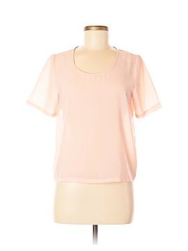 Maeve 3/4 Sleeve Silk Top Size S