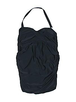 Liz Lange Maternity One Piece Swimsuit Size L (Maternity)