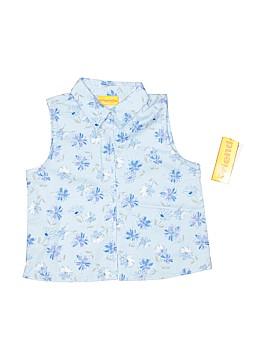Just Friends Sleeveless Button-Down Shirt Size 5 - 6