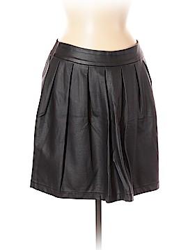 Xhilaration Faux Leather Skirt Size M