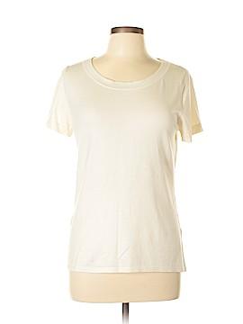 August Silk Short Sleeve Top Size L