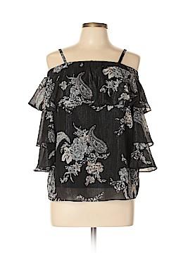BCX Short Sleeve Blouse Size L