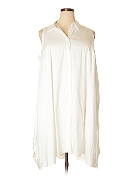 Alfani Sleeveless Button-Down Shirt Size 24 (Plus)