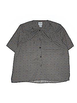 BonWorth Short Sleeve Blouse Size L
