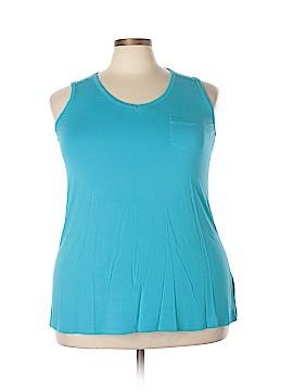 Cynthia Rowley for T.J. Maxx Sleeveless Top Size 1X (Plus)