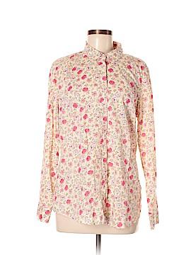 LC Lauren Conrad Long Sleeve Button-Down Shirt Size L