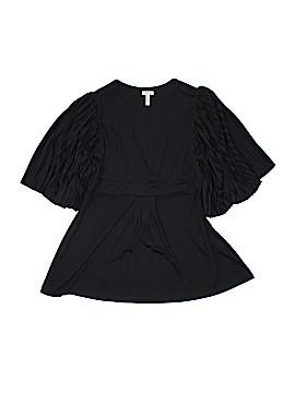 Flounce 3/4 Sleeve Top Size M