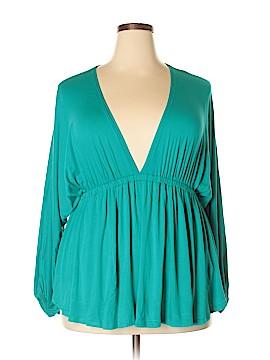 Melissa Long Sleeve Top Size 2X (Plus)
