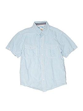 Pd&c Short Sleeve Button-Down Shirt Size 6