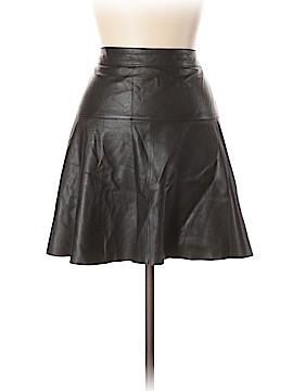 Banana Republic Leather Skirt Size 10