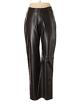 INC International Concepts Leather Pants Size 10