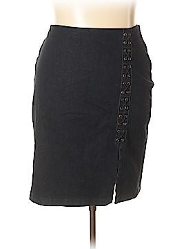Lauren by Ralph Lauren Denim Skirt Size 18 (Plus)