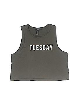 Forever 21 Sleeveless T-Shirt Size M