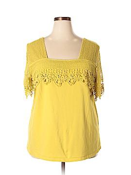 Jessica London Short Sleeve Top Size 22 - 24 (Plus)