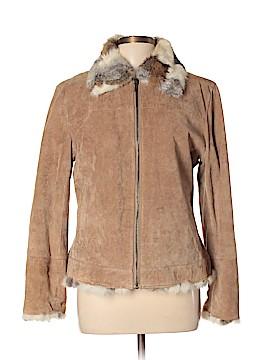 St. John's Bay Leather Jacket Size L