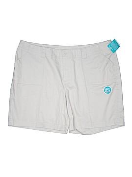 Riders by Lee Khaki Shorts Size 26W (Plus)