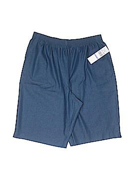 Alfred Dunner Khaki Shorts Size 18 (Plus)