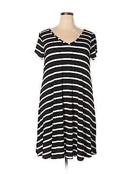 Lane Bryant Casual Dress Size 28 - 26 Plus (Plus)