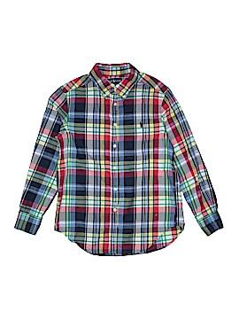 Ralph by Ralph Lauren Long Sleeve Button-Down Shirt Size 10 - 12
