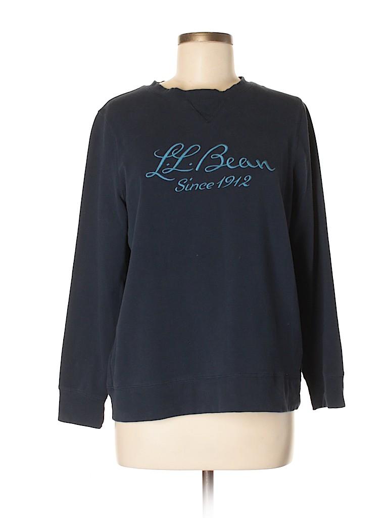 L.L.Bean Women Sweatshirt Size M