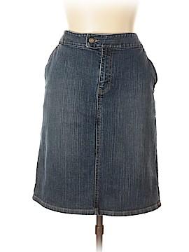 Ann Taylor LOFT Denim Skirt Size 12